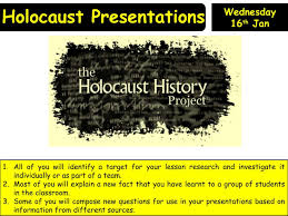 holocaust assessment powerpoint ks3 resource