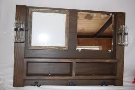 entryway organizer mail mirror coat rack whiteboard