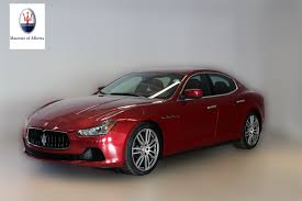 red maserati pre owned inventory maserati of alberta