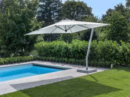 Side Patio Umbrella Exterior Side Post Umbrella Large Outdoor Table Umbrella