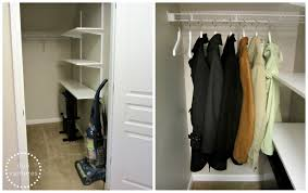duo ventures organizing the coat closet