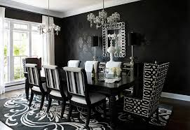 White Upholstered Dining Room Chairs by Opulent Design Ideas Black And White Dining Room Chairs All