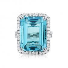 blue topaz engagement rings emerald blue topaz engagement ring blue topaz diamond engagement
