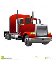 red clipart semi truck pencil and in color red clipart semi truck