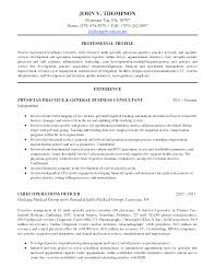 Resume Objective For Medical Receptionist Medical Advisor Resume