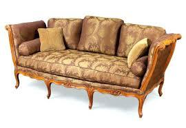 canapé de repos lit capitonne ancien canape de repos louis xv estillac l