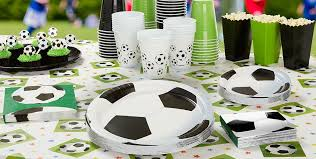 soccer party supplies party city