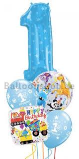 1st birthday balloon delivery 1st birthday boy jumbo balloon bouquet delivery in dubai abu