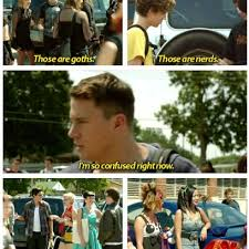 21 Jump Street Memes - those are goths those are nerds quote by channing tatum in 21 jump
