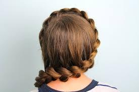 wrap around dutch pancake cute girls hairstyles