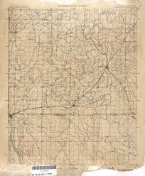 Tulsa Map The Old Paths Historic Oklahoma Usgs Maps Batesline