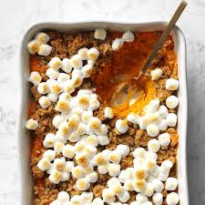 margaret s sweet potato casserole recipe taste of home