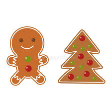 christmas cookie vector icon stock vector image 78759976