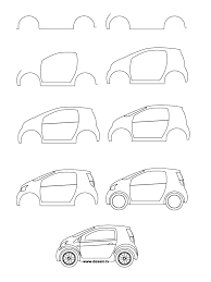 futuristic cars drawings how to draw a car learn how to draw a small car with simple step