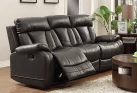 Black Leather Reclining Sofa And Loveseat Electric Reclining Sofa White Leather Reclining Sofa 2 White