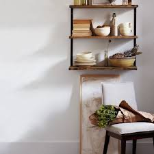 L Bracket Bookshelf L Beam Wall Shelf West Elm