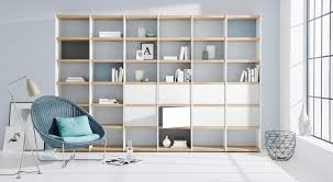 White Oak Bookcase by Shelves For Your Living Or Dining Room Regalraum Com