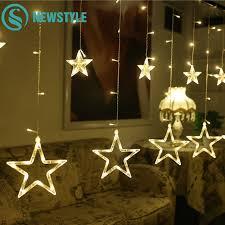 warm white led twinkle lights 2m led string light warm white 138 led twinkle star string lights