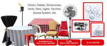 chair table rental anthony chairs tables for hire