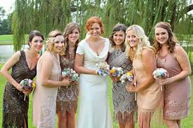 great gatsby bridesmaid dresses wedding trends the great gatsby inspired wedding ideas vponsale