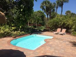 dutch west indies estate tropical exterior miami beautiful pool home set in tropical gardens vrbo