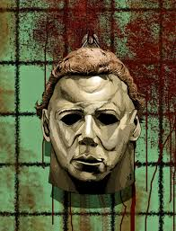 michael myers art caffeinated joe halloween michael myers art