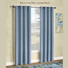 curtains with grommets decorate the house with beautiful curtains