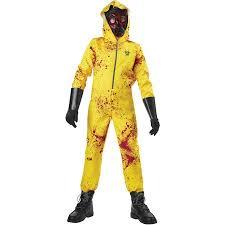 Boys Halloween Costumes Walmart Zombie Hazmat Child Halloween Costume Walmart