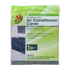 amazon com duck brand standard window air conditioner cover 27