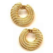 bengali gold earrings cartier unpierced earrings golden yellow gold ref a112915