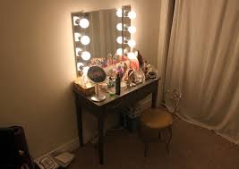 Vanity Mirror With Lights Australia Nifty Bedroom Makeup Table Plus Mirror Together With Bedroom