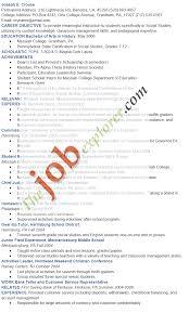 University Professor Resume Sample by Academic Resume Sample Berathen Com
