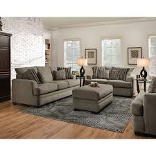 Sofa Bed American Furniture American Furniture Manufacturing Sofas 3653 Cornell Pewter Sofa