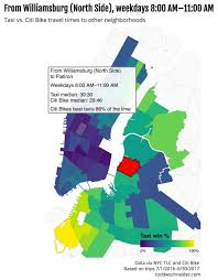 Citi Bike New York Map Taxi Vs Bike Which Is Faster This Iinteractive Nyc Map Will