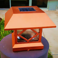 Solar Post Lights Outdoor by Amazon Com Solar Light Post Cap Lights 4 X 4 Plus Super Bright