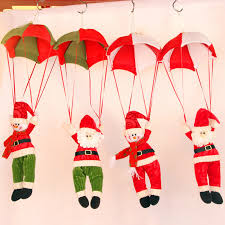 decoration parachute santa claus decoration