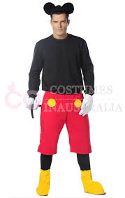 mens mickey mouse halloween fancy dress costume