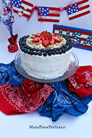 How Many Stripes Are On The Us Flag American Flag Cake Tgif This Grandma Is Fun