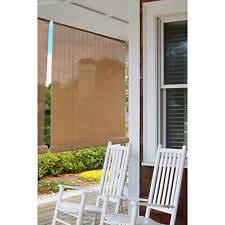 Roll Up Sun Shades For Patios Outdoor Bamboo Shades Ebay