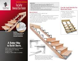 Max Stair Riser by Gopro Construction