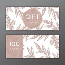 free gift certificate template download 45 free gift certificate