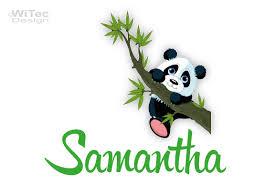 wandtattoo kinderzimmer panda modernes haus kleines