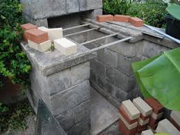 barbecue area ideas brick bbq pit plans brick bbq smoker design