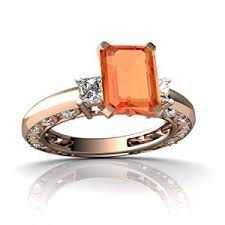 emerald cut engagement rings for the trendy ladies