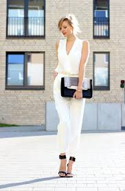 white formal jumpsuit timeless fashion trend white jumpsuits 2018 fashiontasty com