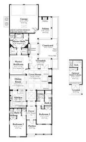 luxury home plans for narrow lots plan 8168 3 bedroom 2 bath house plan with 2 car garage narrow