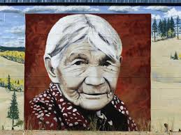 free images woman building old downtown female portrait street art native outside american sketch drawing canada mural poster image indian remembering wall painting modern art british columbia