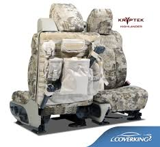 tactical ballistic camo kryptek highlander seat covers with molle