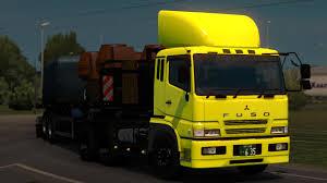 mitsubishi fuso truck mitsubishi fuso super great kc fv513hr v1 3 1 28 truck mod euro
