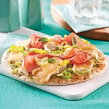 poireaux cuisine pizza jambon brie et poireaux recettes cuisine et nutrition